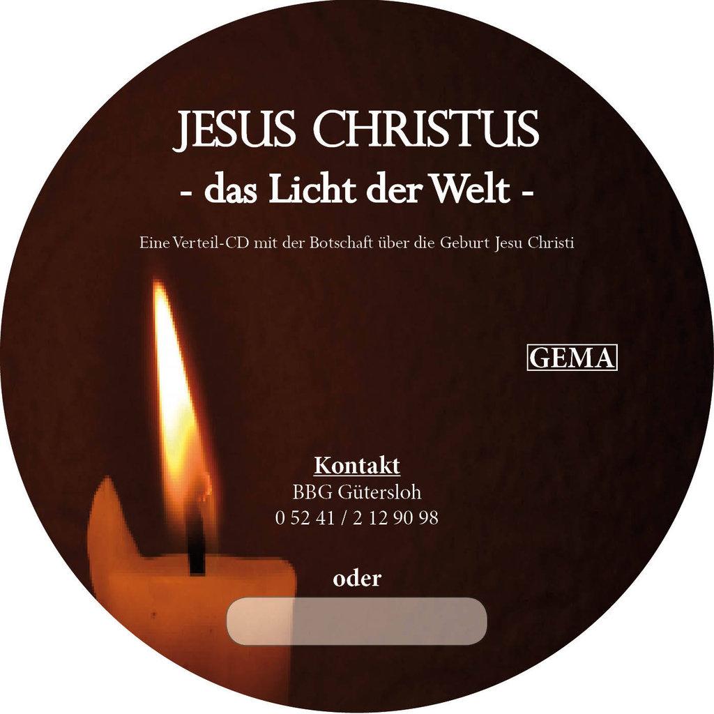 CD - Jesus Christus, das Licht der Welt